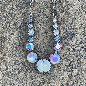 Sorrelli Glacier Swarovski Crystal Necklace NWT